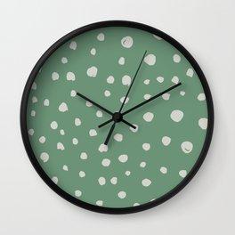 Dotted Lush Wall Clock