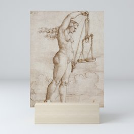 Allegory of Justice, 1533 Mini Art Print