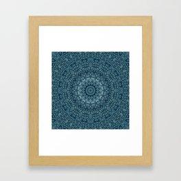 flowing lines pattern 3 Framed Art Print