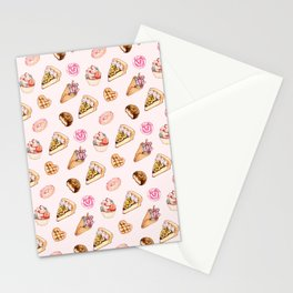 Pink Sweets Stationery Cards