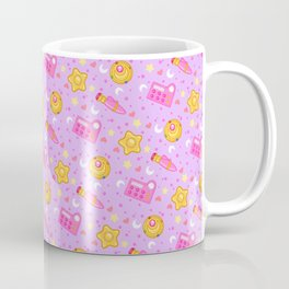 Usagi's Items Pattern / Sailor Moon  Coffee Mug