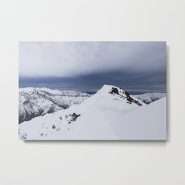 San Gabriel's Summit Metal Print