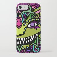 cheshire cat iPhone & iPod Cases featuring CHESHIRE by AZZURRO ARTS