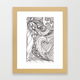 Birds And Scales Of A Feather Flock Together Framed Art Print