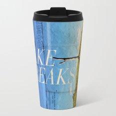 Take breaks. A PSA for stressed creatives. Travel Mug