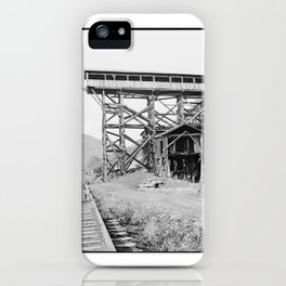 Abandoned Tipple of Mine Which Exploded Last December  iPhone Case