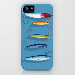 Casting Jigs iPhone Case