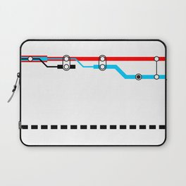 Transportation (Instructions and Code series) Laptop Sleeve