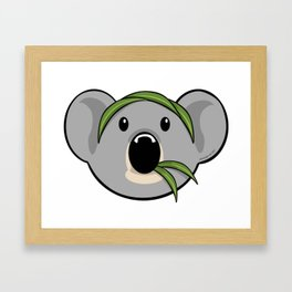 EuKoala Framed Art Print