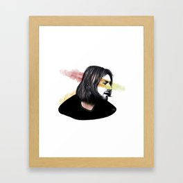 Cobain Kurt Framed Art Print