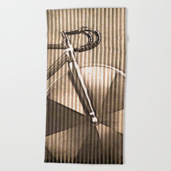 Crimped Bike Beach Towel