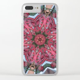 Hearts (from the colourful sugarcane-juice machine) Clear iPhone Case