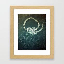 Rope III Framed Art Print