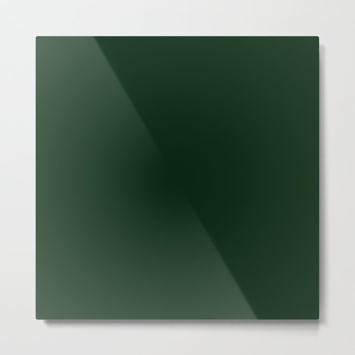 Simply Pine Green Metal Print
