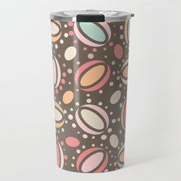 Retro pattern. Beans. Travel Mug
