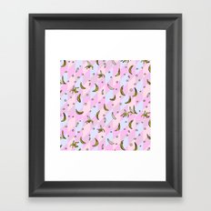 Banana Mix #1 Framed Art Print