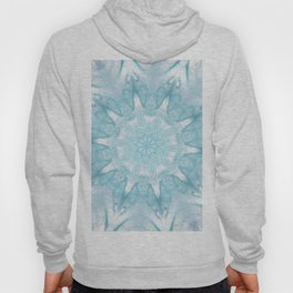 Pastel Blue Sea Star Mandala - Fluid Nature Hoody