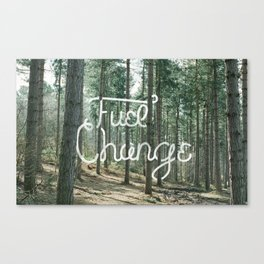 Fuel Change by TheWorley Co. Canvas Print