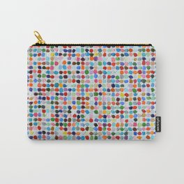 Colossal Polka Daubs Carry-All Pouch