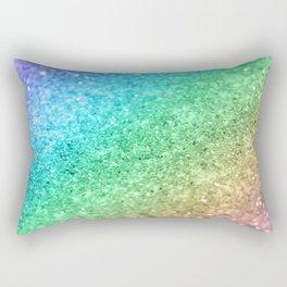 Rainbow Princess Glitter #1 (Photography) #shiny #decor #art #society6 Rectangular Pillow