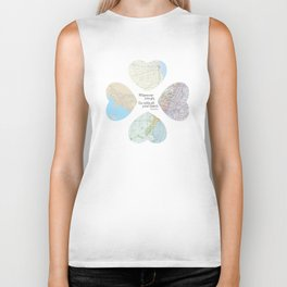 Go With All Your Heart Biker Tank