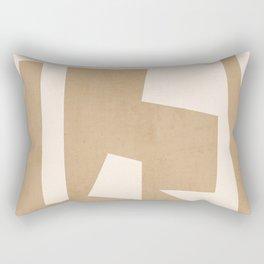 Minimal Abstract Art 30 Rectangular Pillow