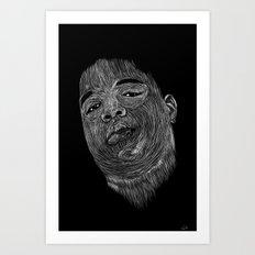 Biggie ( Notorious Big ) Art Print