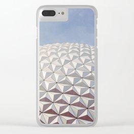 Epcot Landmark Clear iPhone Case