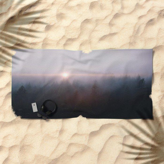 Far from home Beach Towel