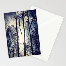Your light will shine in the darkness Stationery Cards