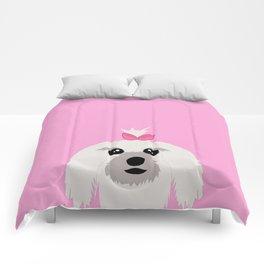 Maltese dog Comforters