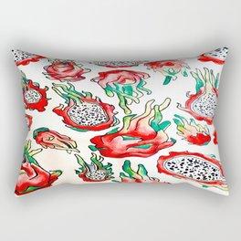 It's Raining Dragonfruit - RED EDITION Rectangular Pillow
