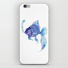 Baby Blue #5 iPhone & iPod Skin