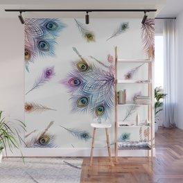 Peacock Dancer Wall Mural