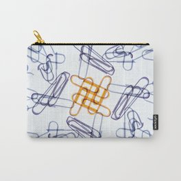 Kaleidoscope -Paper Clips Carry-All Pouch