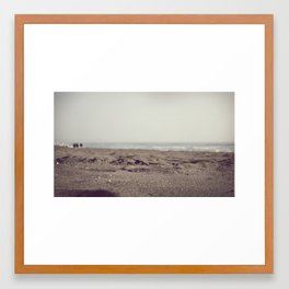 Beach Days Framed Art Print