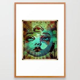J'ai peur d'avoir manqué Framed Art Print