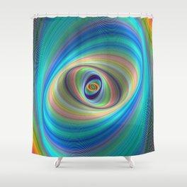 Hypnotic eye Shower Curtain