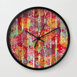 Joyful Markings Wall Clock