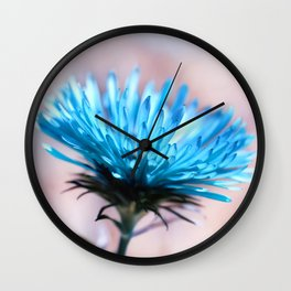 Knapweed blue 221 Wall Clock