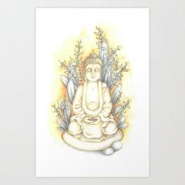 Bouddha Art Print