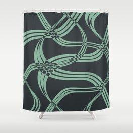 Jungle Net Shower Curtain