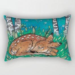Little Dreamer Fawn Rectangular Pillow