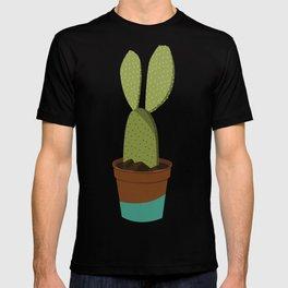 TEAL POT CACTUS T-shirt