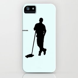 Janitor Scrubs iPhone Case