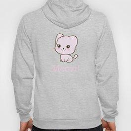 Pastel Kitten Kawaii Hoody