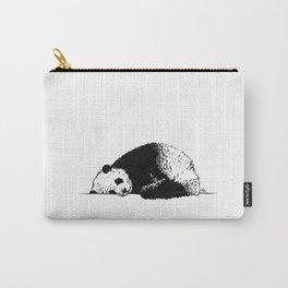 Sleepy Panda Carry-All Pouch