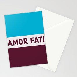 AMOR FATI - STOIC WISDOM Stationery Cards