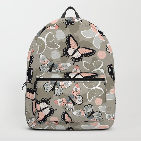 Butterfly pattern 002 Backpack