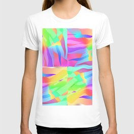 FLOWING GOSSAMER Pattern T-shirt